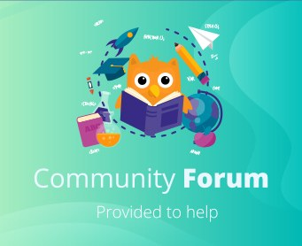 We opened a community forum