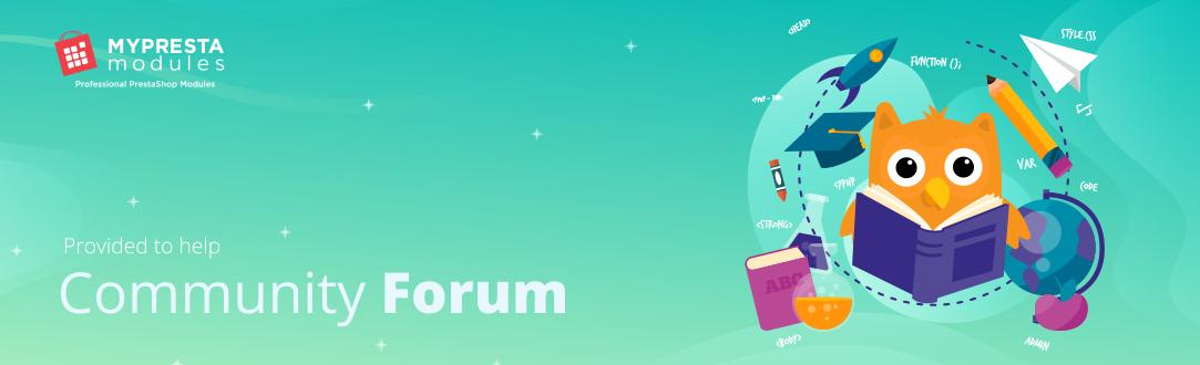 Myprestamodules Forum