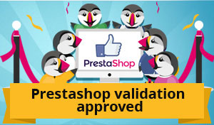 PrestaShop validation approved